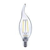 Lampe ToLEDo Rétro flamme C35 coup de vent