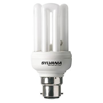 Lampe fluo-compacte Mini-Lynx Fast-Start Sylvania