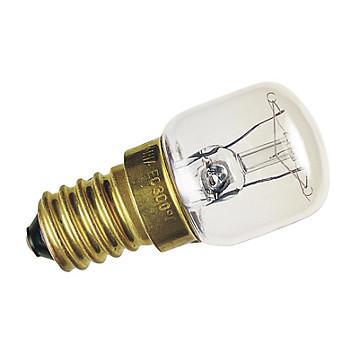 Lampe incandescence pour réfrigérateur claire 15W 230V E14 Sylvania