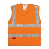Gilet de travail Silex haute visibilité orange
