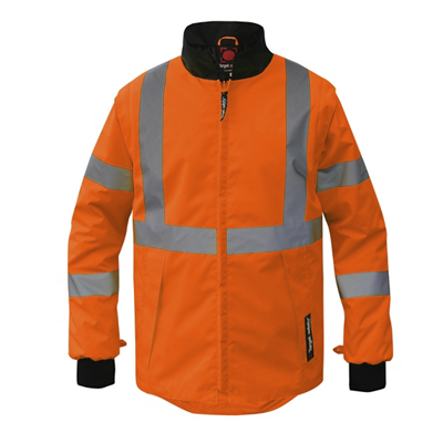 Gilet orange/noir ROCKET 2 T2S