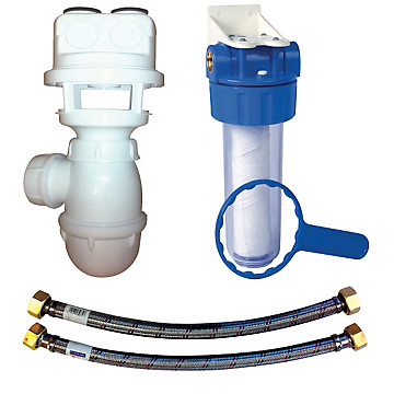 Kit de raccordement adoucisseur MB EXPERT siphon flexible 1