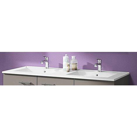 Plan vasque Angelo - Céramique - Double vasque Néova