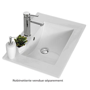 Plan Vasque Angelo Céramique Neova Téréva Direct Vente En - Meuble salle de bain tereva