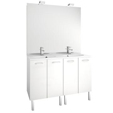 Meuble First Portes Cm MB Expert Téréva Direct Vente - Meuble salle de bain tereva