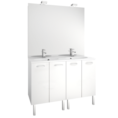 Meuble First 4 portes - 120 cm MB Expert