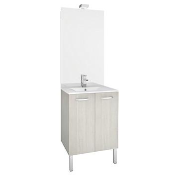 Meuble de salle de bain de 60 cm First à portes MB Expert