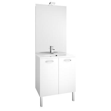 Meuble de salle de bain de 70 cm First à portes MB Expert