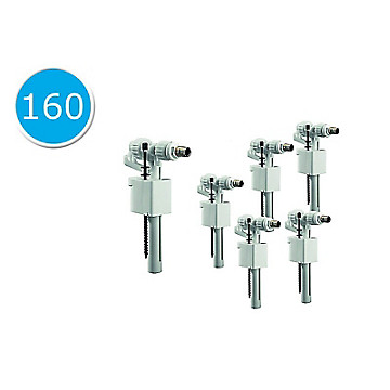 Lot de 6 robinets flotteur 95L modèle compact Siamp
