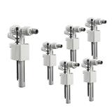 Lot de 6 robinets flotteur 95L modèle compact