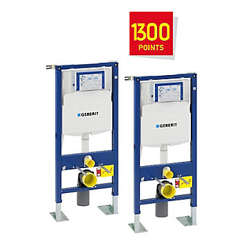 Lot de 2 bâti-supports Duofix Geberit