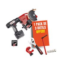 Cintreuse électroportative EUROSTEM® II + 1 pack de 3 outils offert