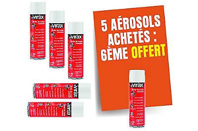 Huile de coupe x5 + 1 aérosols offerts