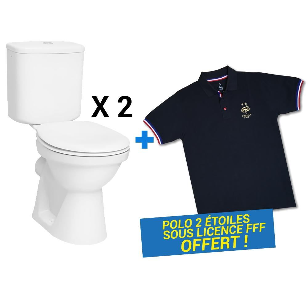 Lot 2 packs WC First 3 + 1 polo FFF 2 étoiles MB Expert