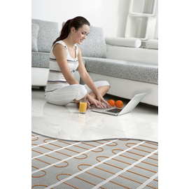 Plancher chauffant électrique connecté