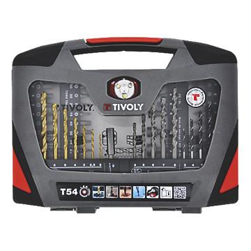 Mallette de perçage/vissage T54 LED Tivoly