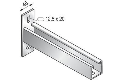 Console T STRUT 41 x 41