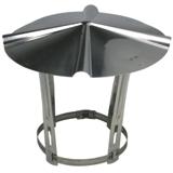 Chapeau de toit inox