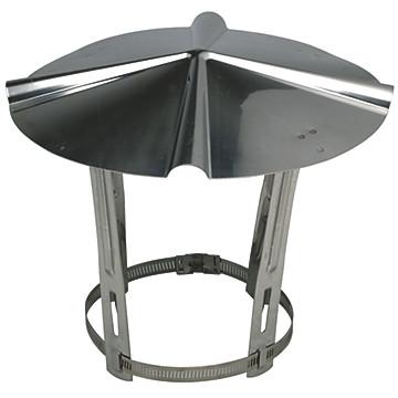 Chapeau de toit inox Ten
