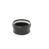 Tampon avec joint fibre noir