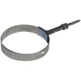Collier de fixation télescopique réglable inox