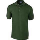 Polo de travail Gildan 100 % coton vert foret