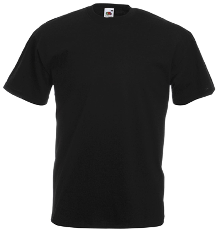 Tee-shirt de travail value-weight noir SC221C Fruit Of The Loom