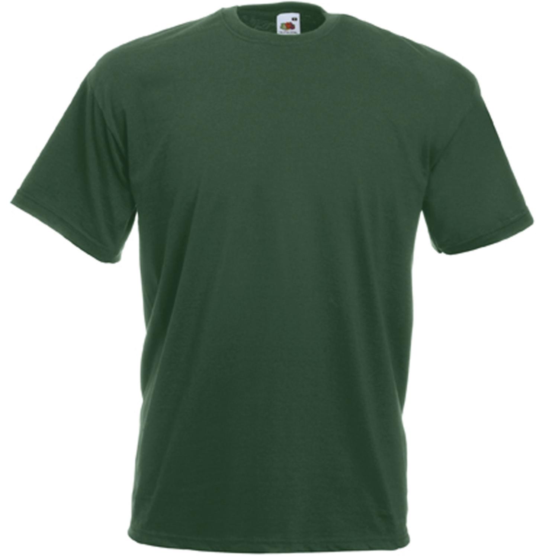 Tee-shirt de travail value-weight vert bouteille SC221C Fruit Of The Loom