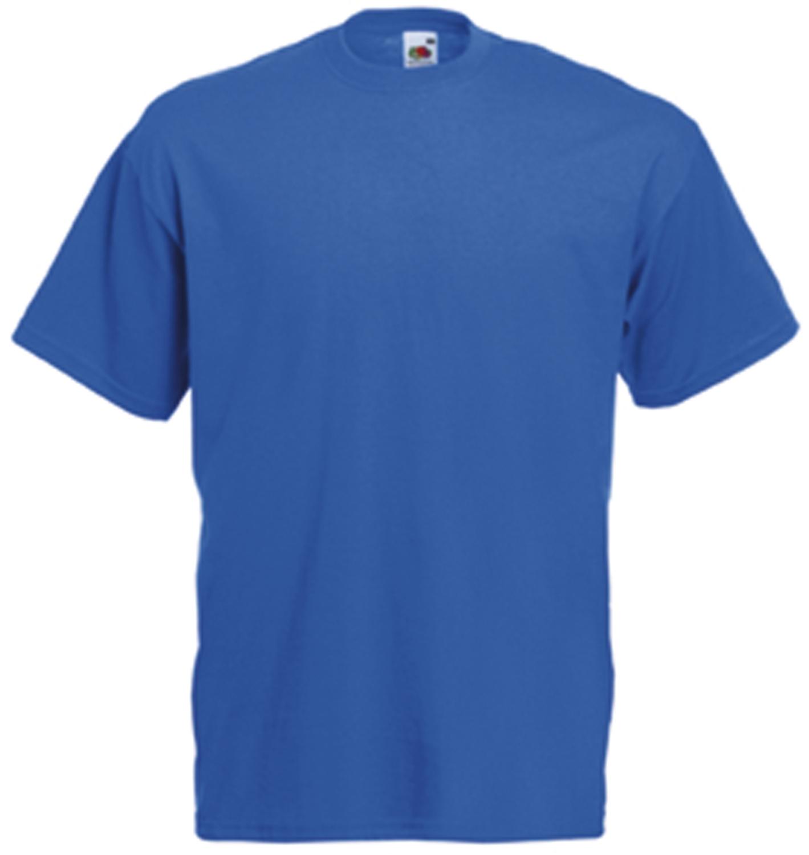 Tee-shirt de travail value-weight bleu royal SC221C Fruit Of The Loom