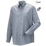 Chemise homme manches longues gris RU932M
