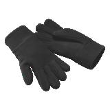 Gants antifroid polaire noir B296