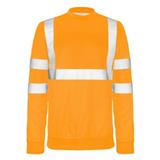 Sweat haute visibilité orange fluo HVSW100