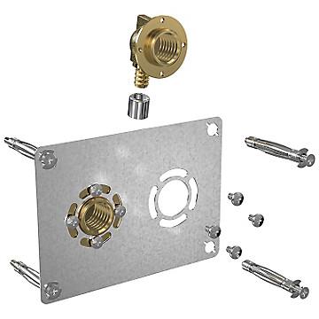 Robifix entraxe 50 mm à sertir pour tube PER Watts