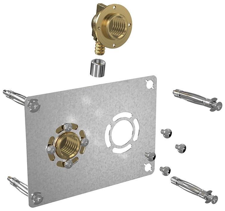 Robifix® à sertir entraxe 50 mm F1/2