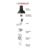 Kit Chemilux condensation Ø 80