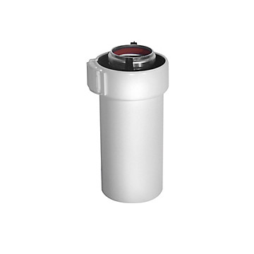 Conduit en aluminium et PVC Ø 60/100 Ubbink