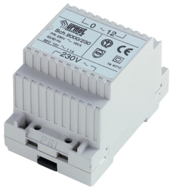 Transformateur 12 Vca pour alimentation clavier Urmet