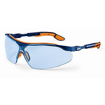 Lunettes I-VO bleuté monture bleue/orange Uvex