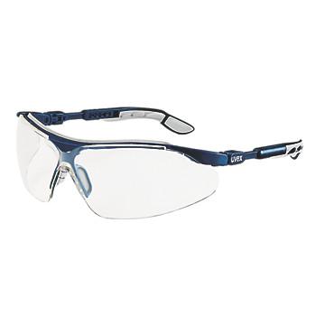 Lunettes de protection I-VO bleuté monture bleue/grise Uvex