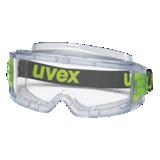 Lunette-masque ultravision incolore acétate anti-buée