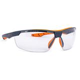 Lunette de protection Flexor + gris/orange