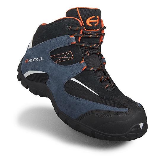 Chaussures hautes Macmove 2.0 63003 - Noir/Bleu/Orange Heckel