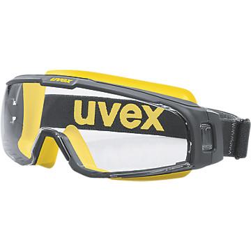 Lunette-masques U-Sonic gris/jaune Uvex