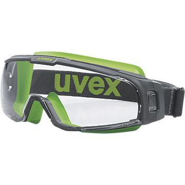Lunette-masque U-Sonic gris/vert Uvex