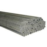Bout lisse (T1) - acier galvanisé