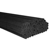 Bout lisse (T1) - Acier noir