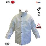 Parka polyamide blanc Edf