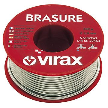 Métal d'apport flamme 2 mm Virax