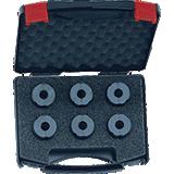 Mallette d'inserts V Ø : 12-14-16-18-22 mm
