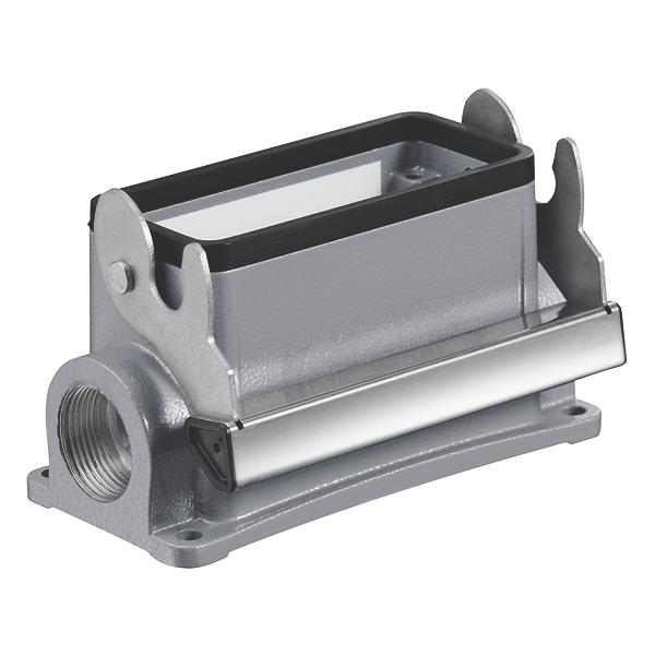 Connecteur industriel rectangulaire, embase en saillie, taille 8, 64D Weidmuller